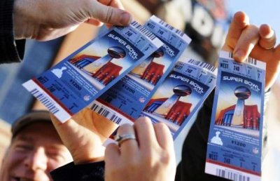Tickets for the Super Bowl