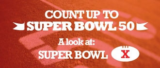 Count Up to Super Bowl 50: A look back at Super Bowl X