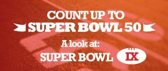 Count Up to Super Bowl 50: A look back at Super Bowl IX