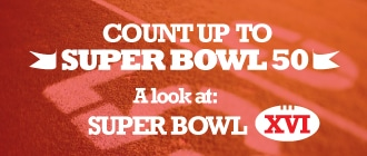 Count Up to Super Bowl 50: A look at Super Bowl XVI Image