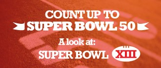 Count up to Super Bowl 50: A Look at Super Bowl XIII