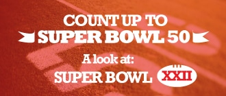 Count Up to Super Bowl 50: A Look Back at Super Bowl XXII