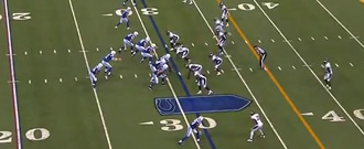 Colts playing the Broncos