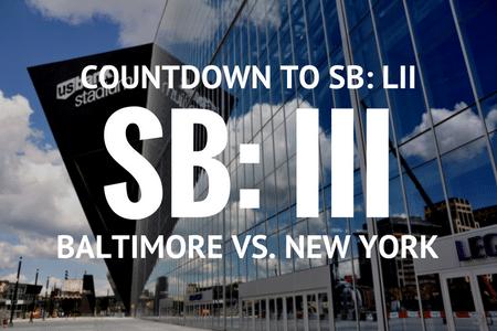 Super Bowl LII Countdown